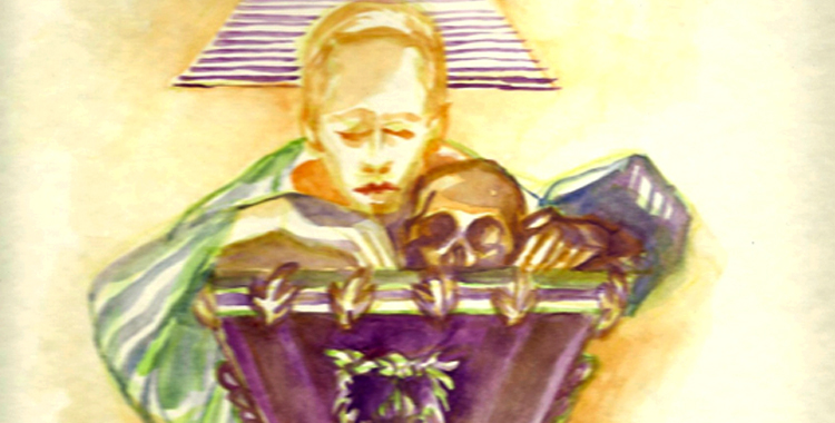 Symbolic illustration of Dna. Teodora Alonzo and Dr. Jose P. Rizal. #RizalDay2012