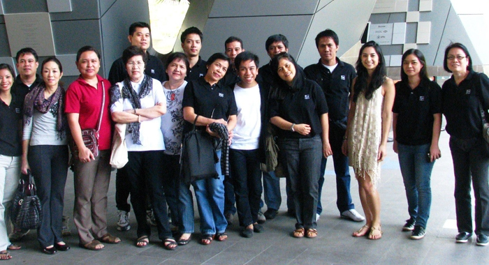The Lopez Museum and Library staff went on its annual educational field trip on 22 December 2012