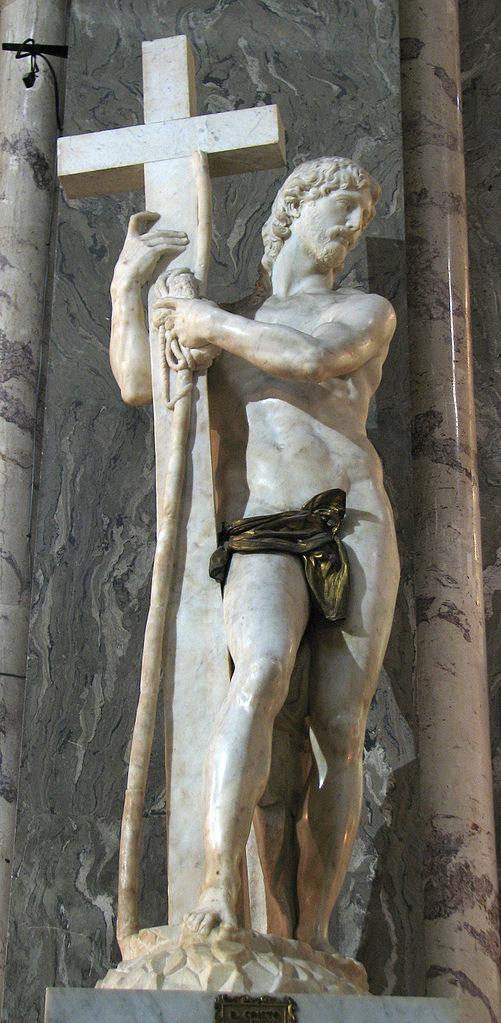 Michelangelo - Risen Christ or Cristo della Minerva