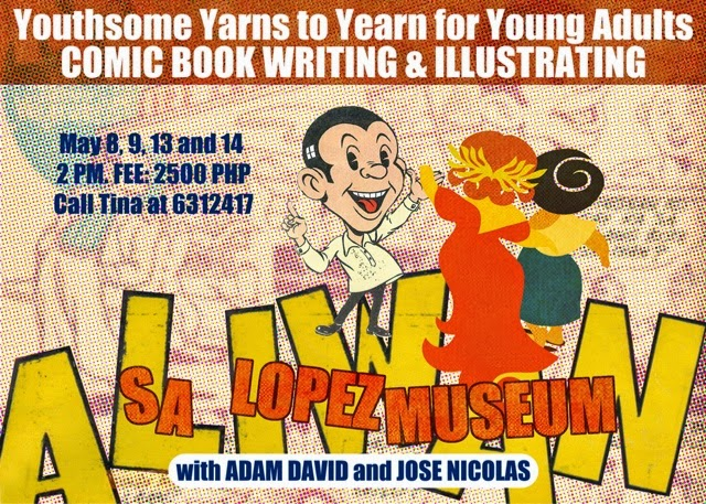 YOUTHSOME YARNS TO YEARN FOR: THE BLTX SUMMER KOMIX WORKSHOP 2014