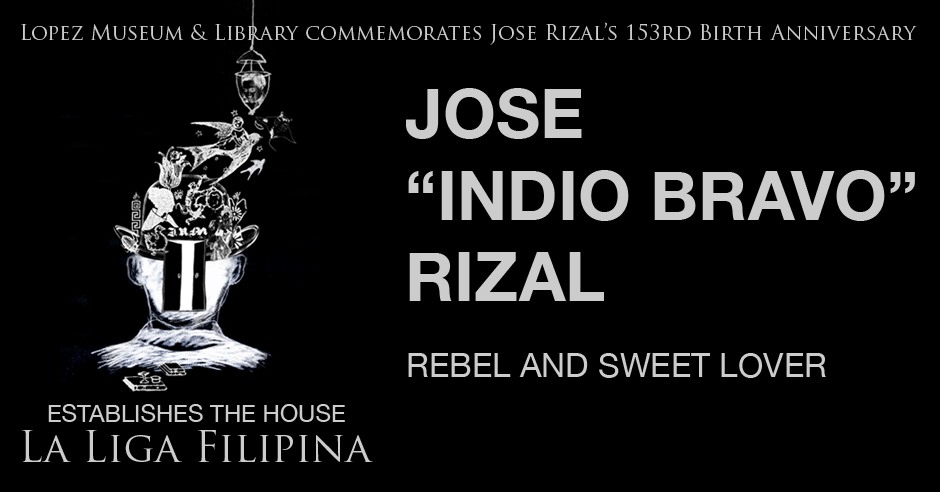 Lopez Museum & Library commemorates Jose Rizal's 153rd Birth Anniversary — 19 June 2014. #Rizal153