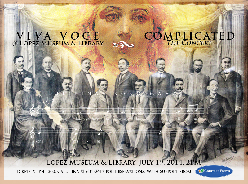 Viva Voce for Complicated: The Concert on 19 July will marry art, history and music.