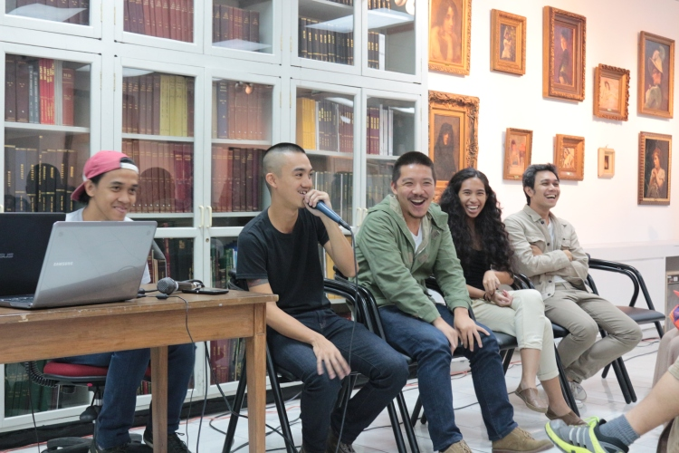 02 Artists Talk with Buen Calubayan and Tito & Tita