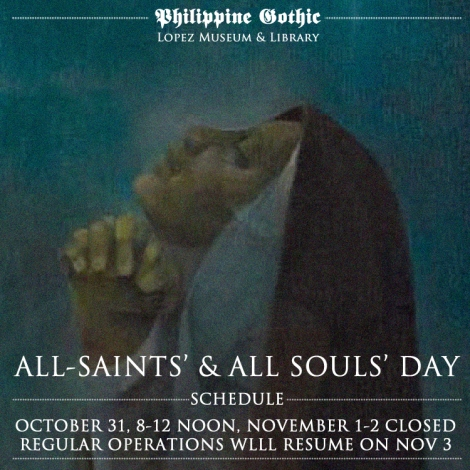 Lopez_Museum_Philippine_Gothic_Schedule