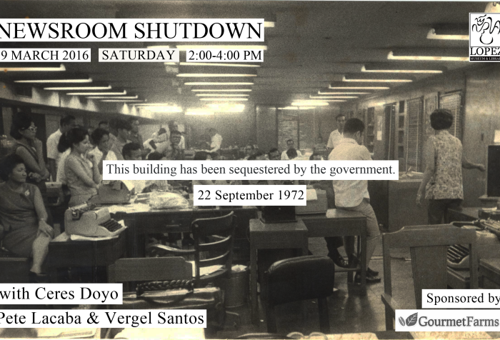 Newsroom Shutdown