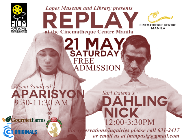 21 May 2016, Saturday.  Replay: Aparisyon and Dahling Nick