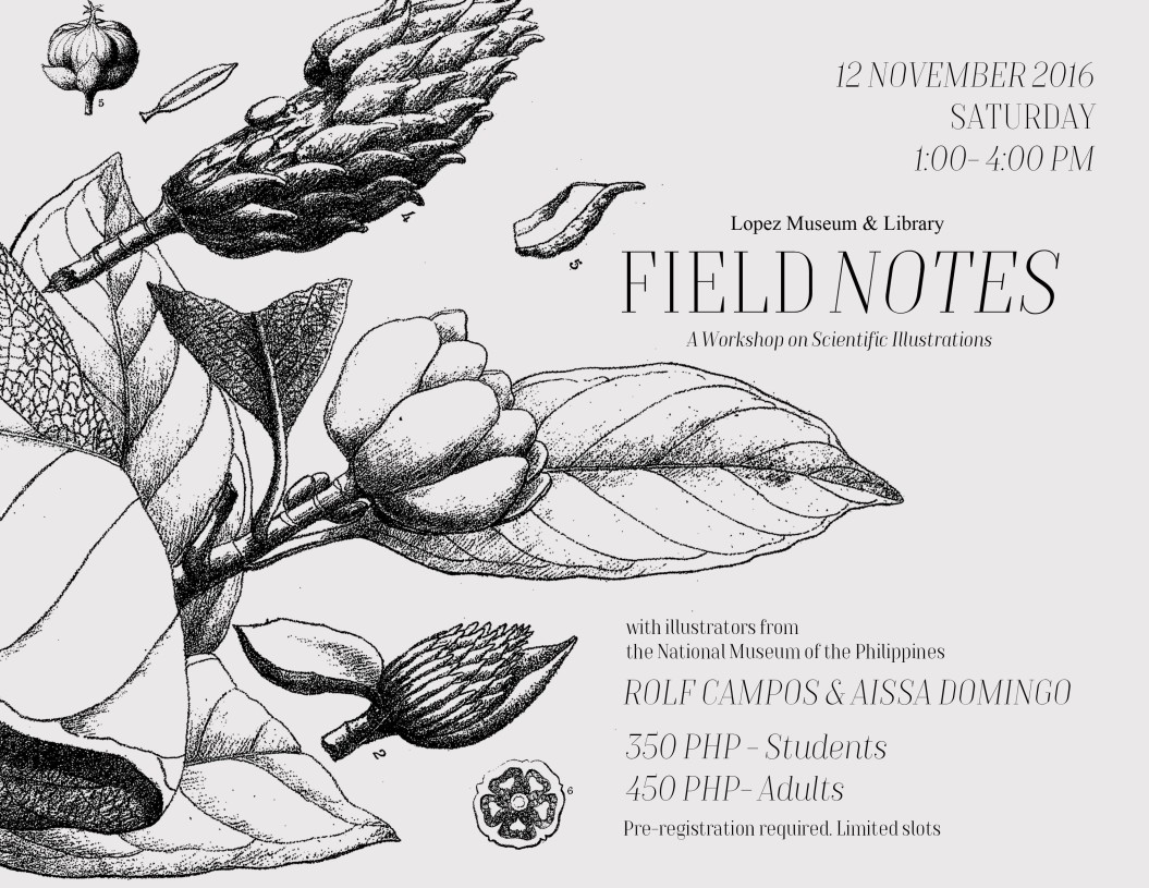 FIELD NOTES Workshop