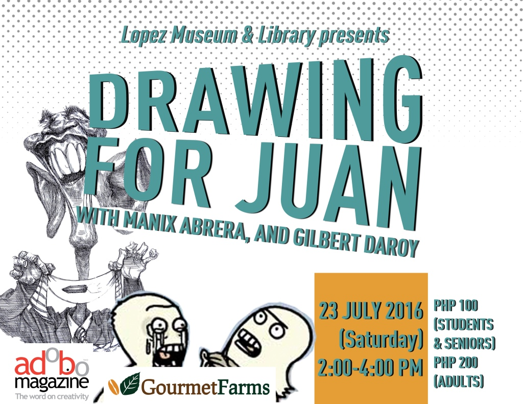 Drawing for Juan Change of Date