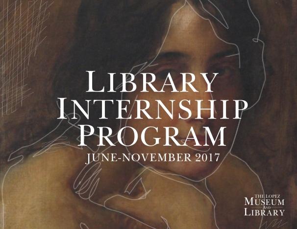 Library Internship Program 2017