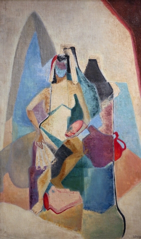 saguil-nena-fontainebleau-1964-oil-on-canvas