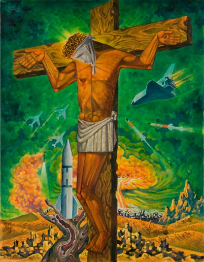 Galo Ocampo. Crucifixion. 1984. Lopez Museum and Library Collection