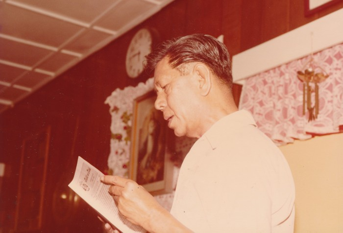 Nick Joaquin. Photo Courtesy of Marra Pl. Lanot, and Pete Lacaba.