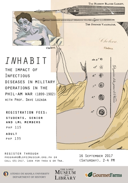 INHABIT: The Impact of Infectious Diseases in Military Operations in the Phil-Am War (1899-1902)