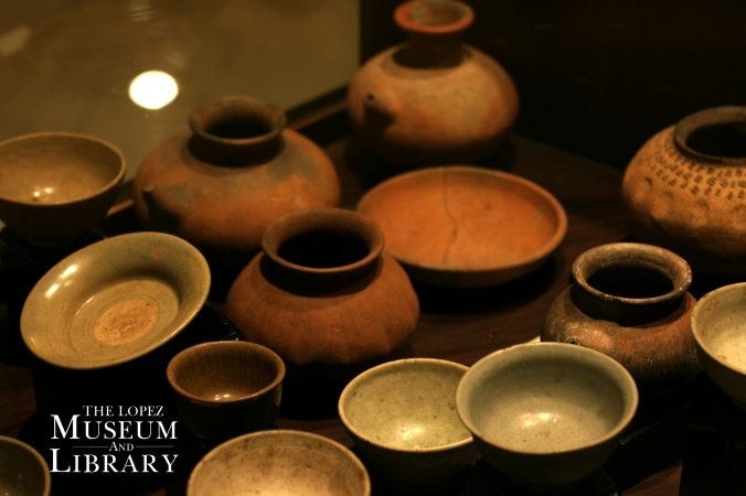 Ceramics, Lopez Museum and Library Collection